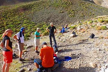 trekking montagnes atlas maroc