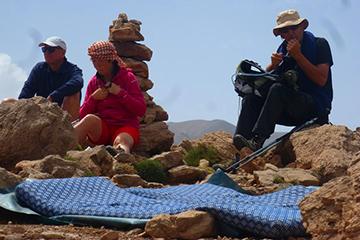 randonnée massif du mgoun maroc