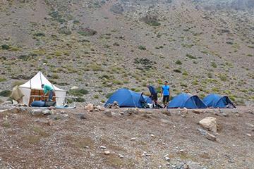 nuit sous tente aux désert maroc