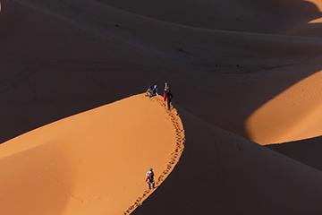 randonnée dunes et désert maroc