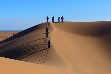 trekking dunes de chegaga maroc