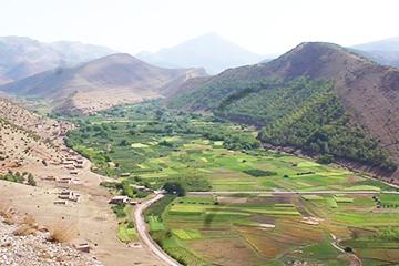 Randonnée à Ait Bougmez Maroc