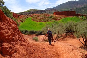 randonnée vallée zat maroc